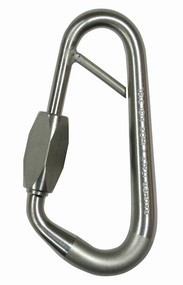 "Art.534 - Moschettone inox RING SAFETY13  – Tipo ""Chiuso"""